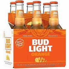 6 Oz Bud Light Bud Light Orange 6 Pack 12 Fl Oz Bottles Walmart Com