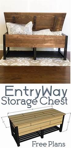entryway storage chest diy entryway storage furniture