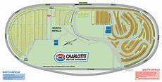Cms Seating Chart Maps Camping Charlotte Motor Speedway