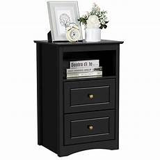 yaheetech end side sofa table nightstand bedside table