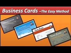 How To Make Business Cards In Word 2020 Business Card Make Business Cards Powerpoint 2010