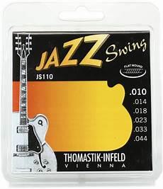 Light Gauge Flatwound Guitar Strings Thomastik Infeld Jazz Swing Flatwound Electric Guitar