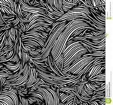 Abstract Art Black And White Patterns Vector Seamless Black White Abstract Hand Drawn Pattern