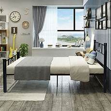 aingoo single metal bed solid 3ft beds frame fits for 90