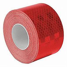 Red Tape Over Light 3m Reflective Tape 2 Quot Width 30 Ft Length Emergency
