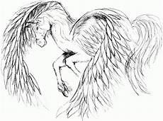Einhorn Pegasus Ausmalbilder Malvorlagen Pegasus Einhorn