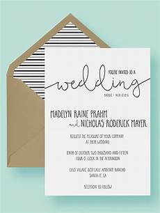 Wedding Invite Free Templates 16 Printable Wedding Invitation Templates You Can Diy