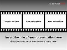 Filmstrip Powerpoint Template Film