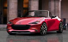 mazda mx 5 facelift 2020 2022 mazda mx 5 rendered could see electrification