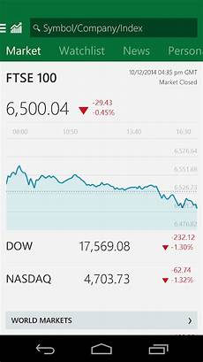 Msn Stock Quotes Msn Money Stock Quotes Android Apps On Google Play