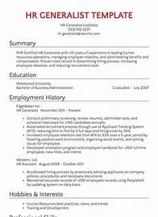 Resume Sample Hr Recruiter Resume Sample Resume Com