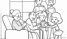family colouring pages to print at getcolorings free