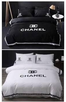 chanel bedding set en 2020 deco lit parrure de lit et