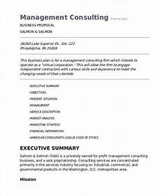 Management Consulting Proposal 59 Business Proposal Examples Restaurant Startup