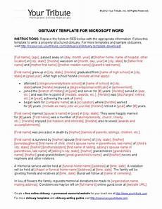 Template For Obituary Microsoft Word Obituary Template For Microsoft Word Obituary Funeral