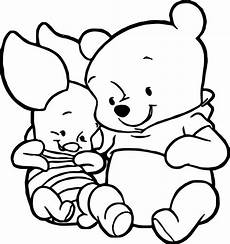 baby piglet winnie the pooh coloring page