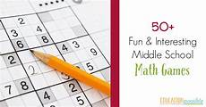50 and interesting middle school math