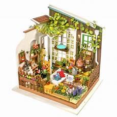 robotime diy doll house miller s garden children s gift