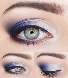 augen make up dezent blau evening makeup for light and light hair makeup f 252 r