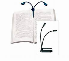Best Clip On Book Reading Light Hydra Book Light Shines A Lamp On Two Pages At Once Book
