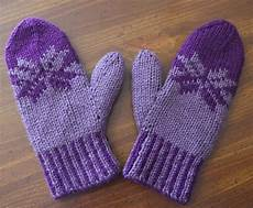 knit fair isle mittens knitting pattern by