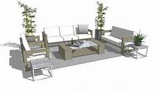 Patio Sofa Set 3d Image by Modern Outdoor Patio Furniture 3d Warehouse