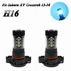 2013 Subaru Crosstrek Light Bulb 2pcs H16 8000k Ice Blue Led Fog Light 80w Bulb Fit Subaru
