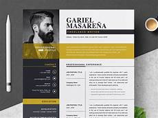 Free Creative Cv Template Download Word Professional Word Resume Cv Template By Anda Lia On Dribbble