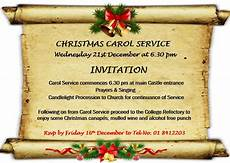Christmas Carol Invitation Wording Home Www Gormanstoncollege Ie