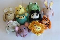 friends animal amigurumi pdf crochet patterns all 10 cat