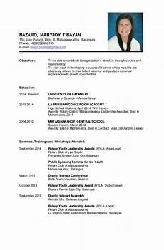 Personal Data In Resume Resume Sample