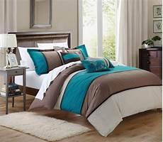 chic home ballroom 11 comforter set king size teal