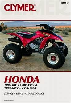 Honda 250x 300ex Manual Repair Service Shop