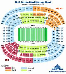 At T Cotton Bowl Seating Chart Cotton Bowl Seating Chart Ticketcity Insider