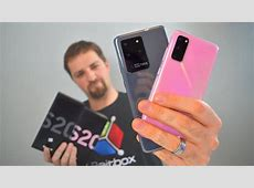 ULTRA UNBOXING   Galaxy S20 i S20 Ultra   YouTube