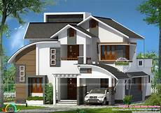 Home Design Roof Styles All Mix Roof House Plan By Zabir Ehsan Associates Kerala