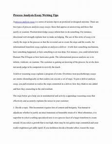 Process Analysis Essay Topics Process Analysis Essay Writing Tips