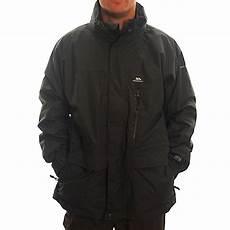 3 in 1 mens coats trespass mens edgewater 3in1 jacket flint mens from