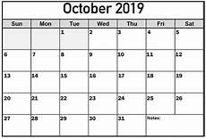 October Calendar Cute October 2019 Calendar Word Doc Net Market Media