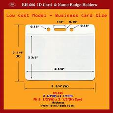 Id Cards Size Business Card Size Id Card Holder