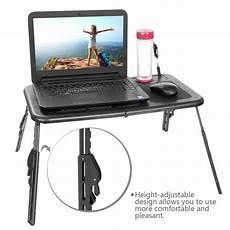 new adjustable foldable laptop notebook desk table fans