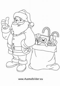 Malvorlage Nikolaus Mit Sack Ausmalbilder Der Nikolaus Bringt Geschenke Nikolaus