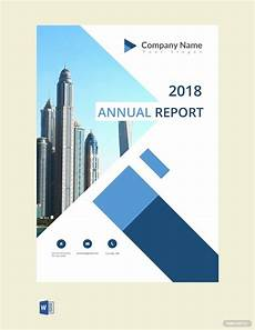 Title Page Template Word 2010 Free Annual Report Cover Page Template In 2020 Cover