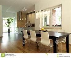 cucina e sala da pranzo sala da pranzo e cucina immagine stock immagine di