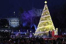 Washington Dc Christmas Lights 2017 National Christmas Tree Lighting Expected To Bring Messy