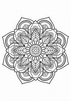 Mandala Malvorlagen Quotes Mandala From Free Coloring Books For Adults 22 M Alas