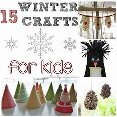 15 winter crafts for the anti june cleaver