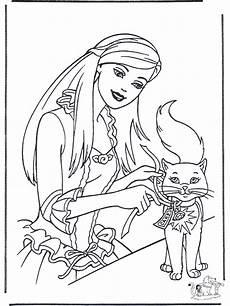 Ausmalbild Prinzessin Katze Prinzessin Und Katze Malvorlagen M 228 Rchen