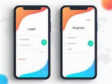 Android Registration Form Design Login Screen Ui Inspiration 1 Daniel Aditya Istyana