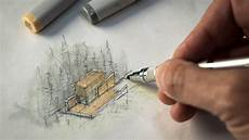 Architecture Design Drawing Techniques Sketch Like An Architect Techniques Tips From A Real